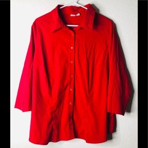 EUC Apt. 9 Button Down Blouse